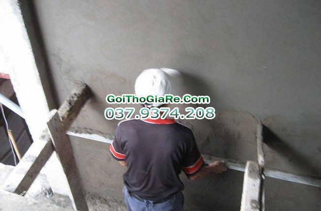 Gọi thợ xây trát tường giá rẻ tại Hà Nội