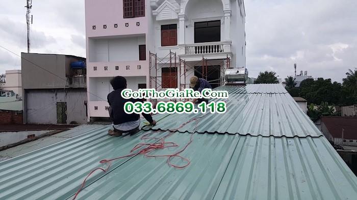 Lợp mái tôn trọn gói giá rẻ tại Hà Nội