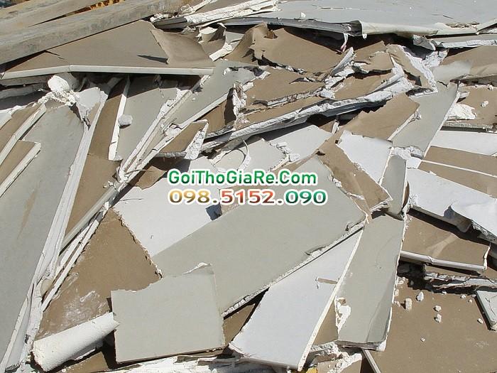 Dịch vụ phá dỡ thạch cao giá rẻ tại Hà Nội