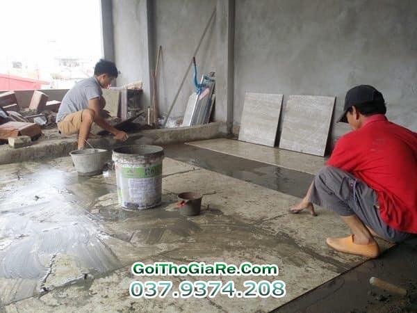 Gọi thợ ốp lát giá rẻ tại Hà Nội
