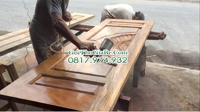 Thợ sơn cửa, thợ sơn cửa gỗ giá rẻ tại Hà Nội