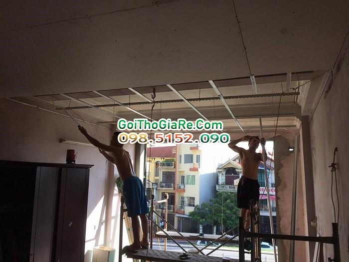 Thợ sửa trần thạch cao giá rẻ tại Hà Nội