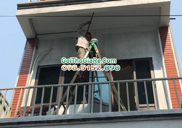 Dịch vụ sơn sửa nhà giá rẻ tại Hà nội