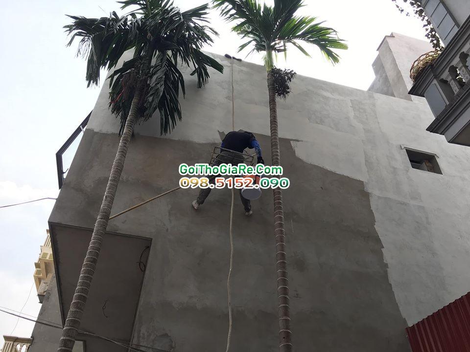 Thợ sơn chống thấm tường nhà giá rẻ tại Hà Nội