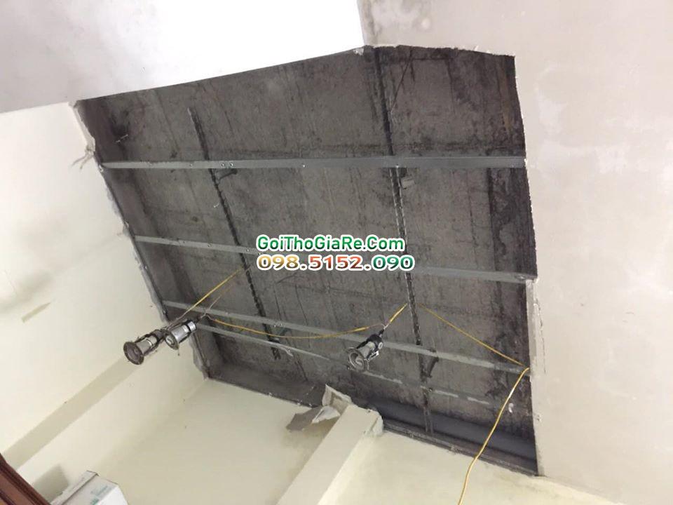 Thợ sửa chữa Vá lại trần thạch cao nhanh ở Nghĩa Đô, Cầu Giấy, Hà Nội