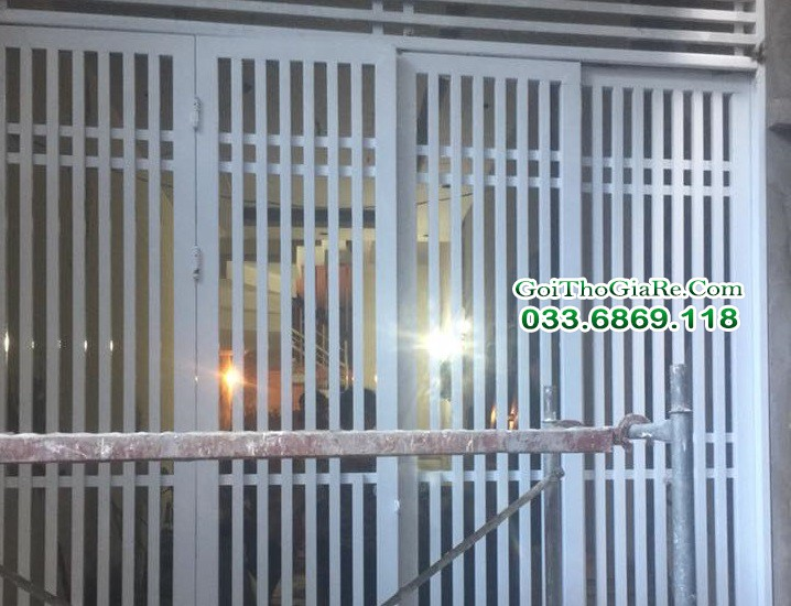 Thợ làm cửa sắt, cổng sắt đẹp tại Hà Nội