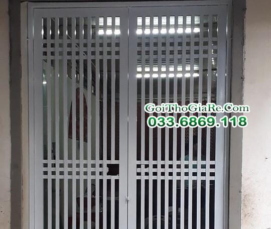 Thợ làm cửa sắt, cổng sắt giá rẻ tại Hà Nội