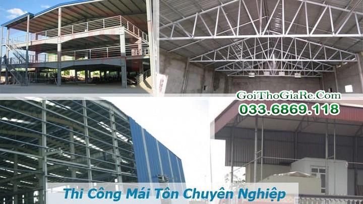 Mái tôn chống nóng cho nhà xưởng, nhà hàng giá rẻ tại Hà Nội