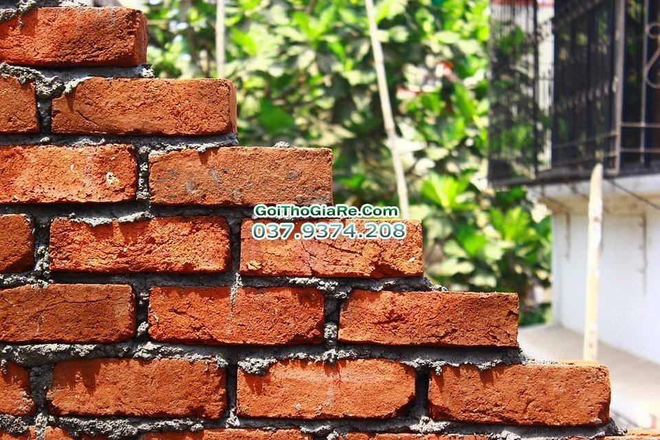 Báo giá xây trát tường sửa chữa nhà tại Hà Nội