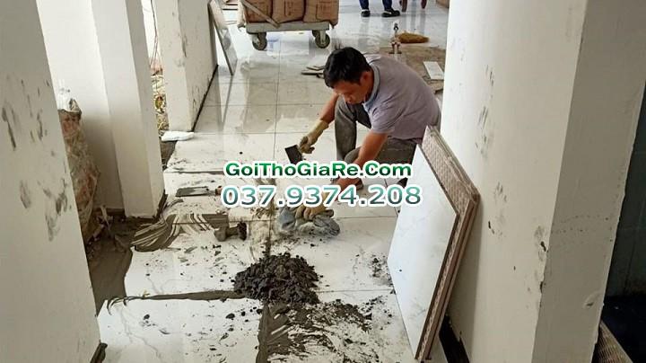 Báo giá thợ ốp lát, giá nhân công ốp lát tại Hà Nội