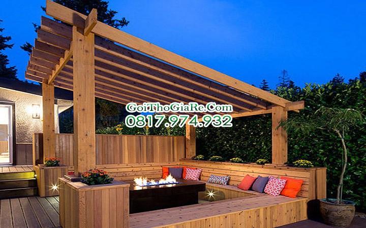 Sơn dầu cho đồ gỗ ngoài trời bền đẹp