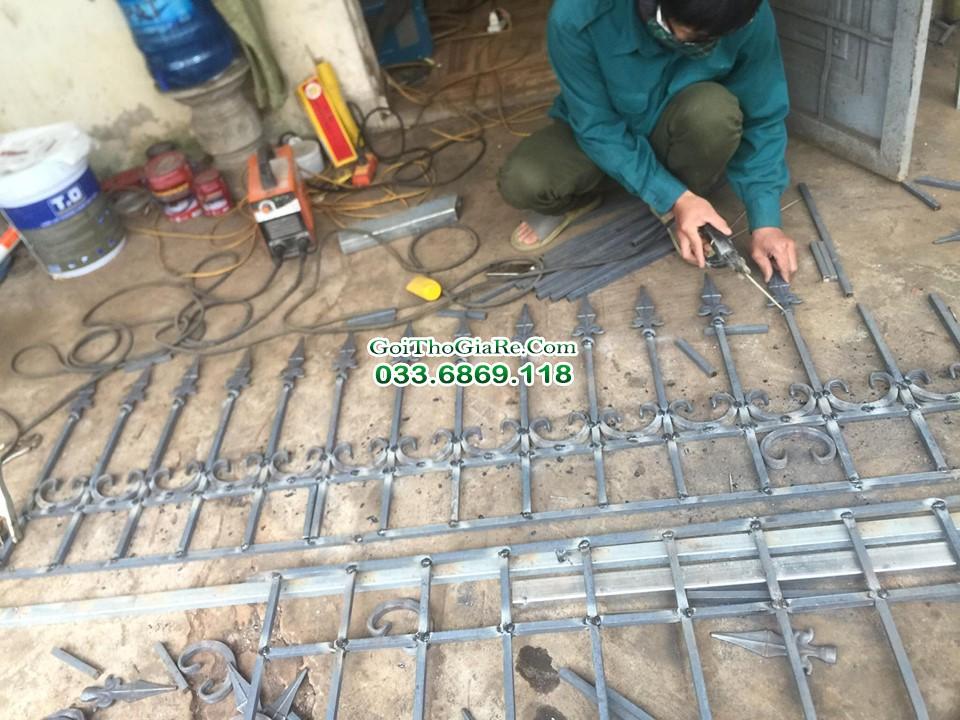 Thợ làm lan can, hàng rào sắt tại Hà Nội