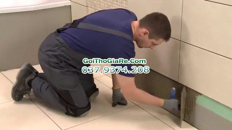Dịch vụ ốp lát nền nhà, lát gạch, sửa chữa chống thấm